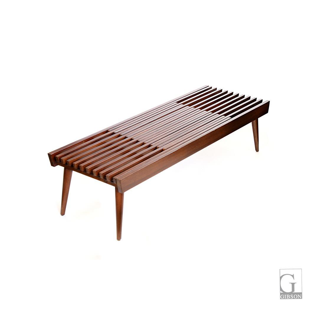 Japanese Wood Slat Expanding Coffee Table 54 L X X 1200